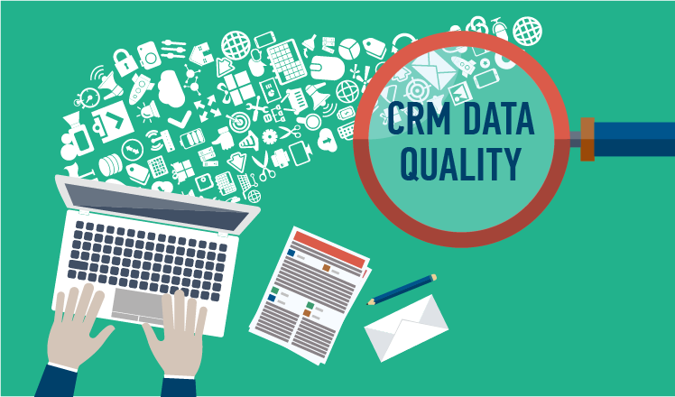 Data quality assurance in BI - based on CRM data