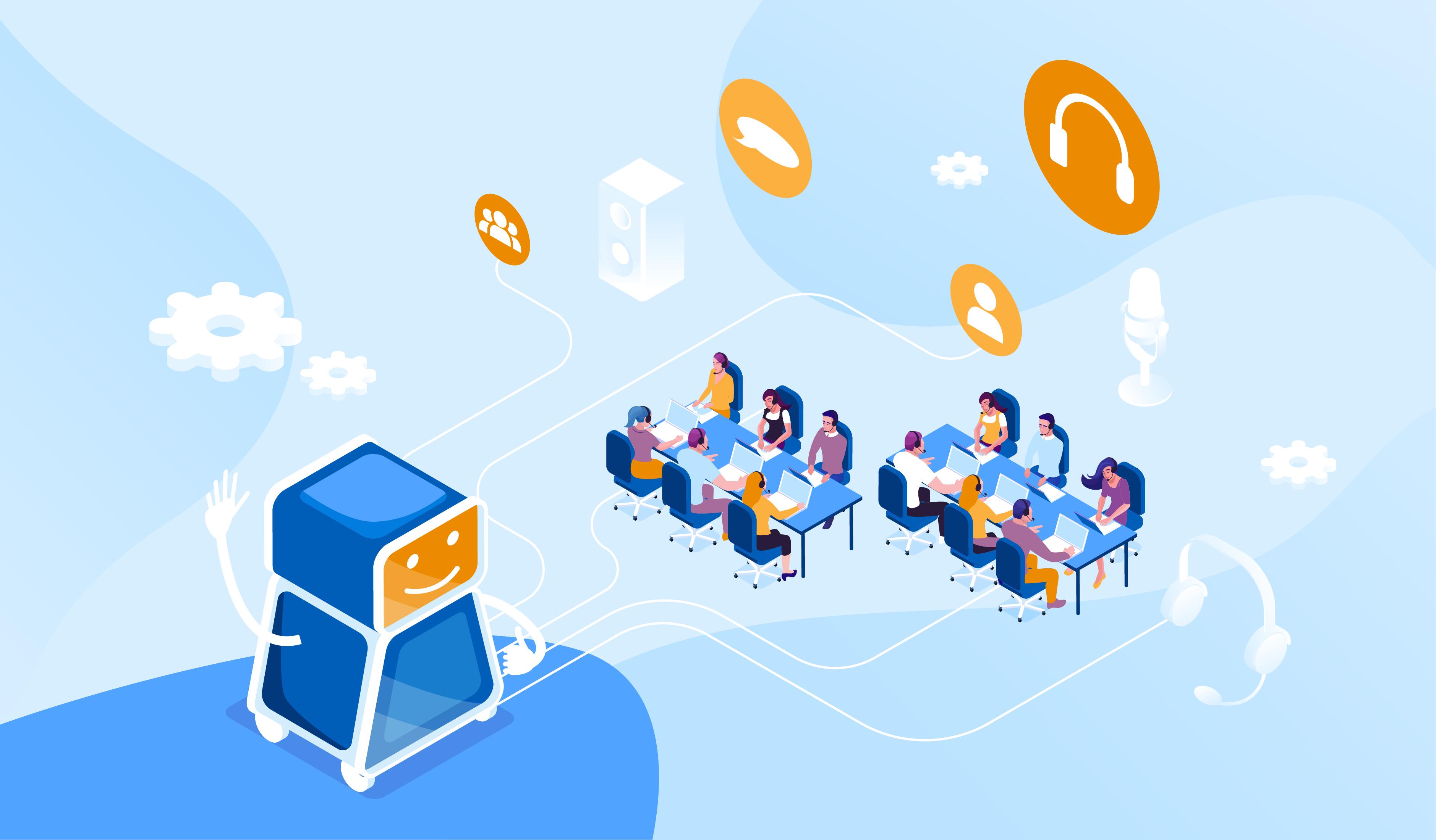 Consejos y software de automatización del centro de llamadas