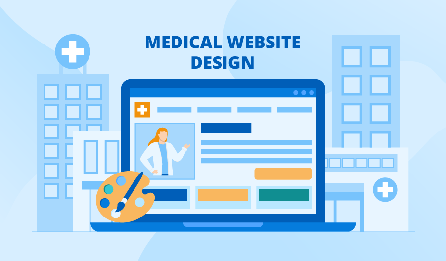 Best Practices of Healthcare Website Design with Examples