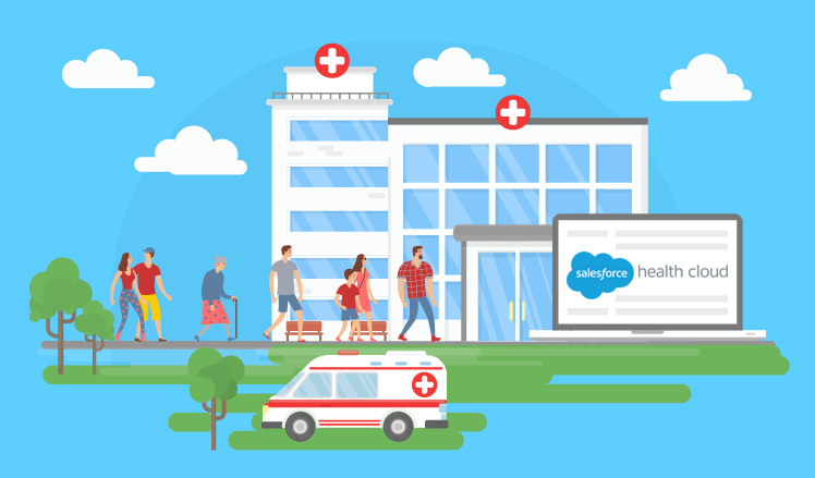 Salesforce Health Cloud and its approach to patient acquisition