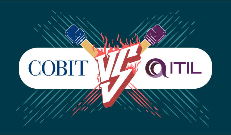 cobit vs itil a real life example of what these two can do
