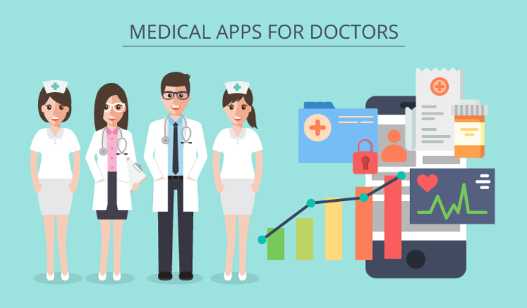 Medical apps for doctors: Functional overview