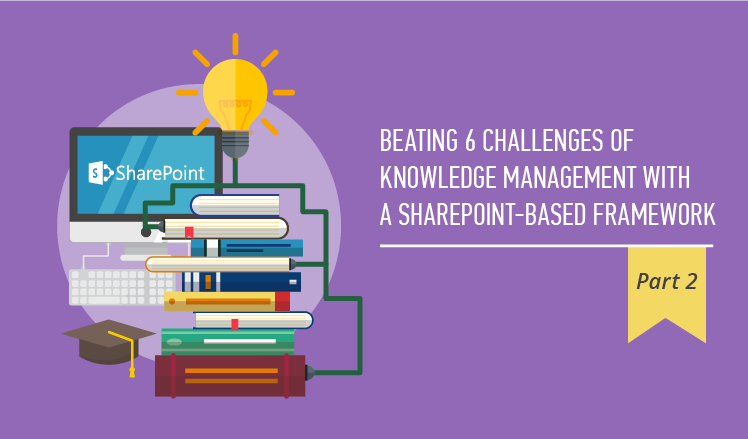 beating 6 challenges of knowledge management with a sharepoint based
