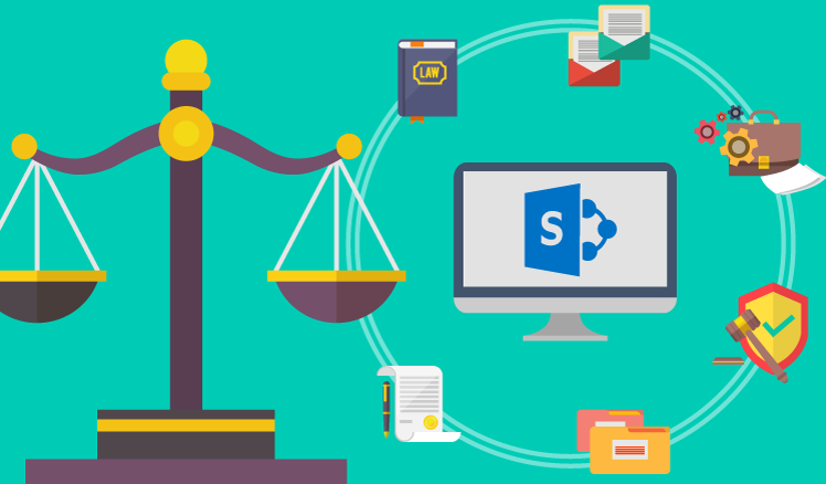 SharePoint legal document management system