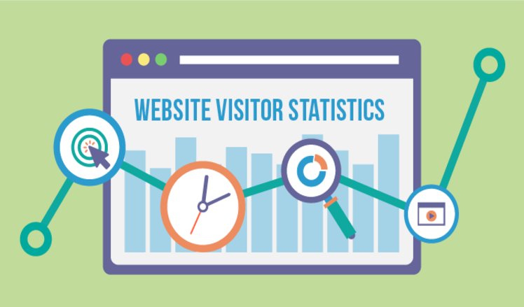 Website visitor analytics