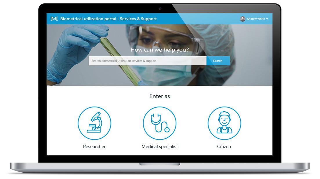 ServiceNow Portal Development for Biomaterial Usage