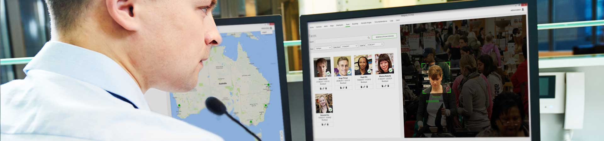 Development of Facial Recognition Software for Employee Monitoring