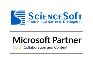 ScienceSoft attains Microsoft Gold Collaboration and Content Competency