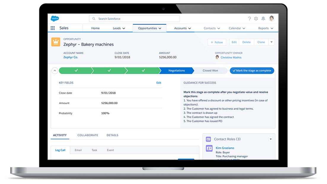 Salesforce Demo: Opportunity Management
