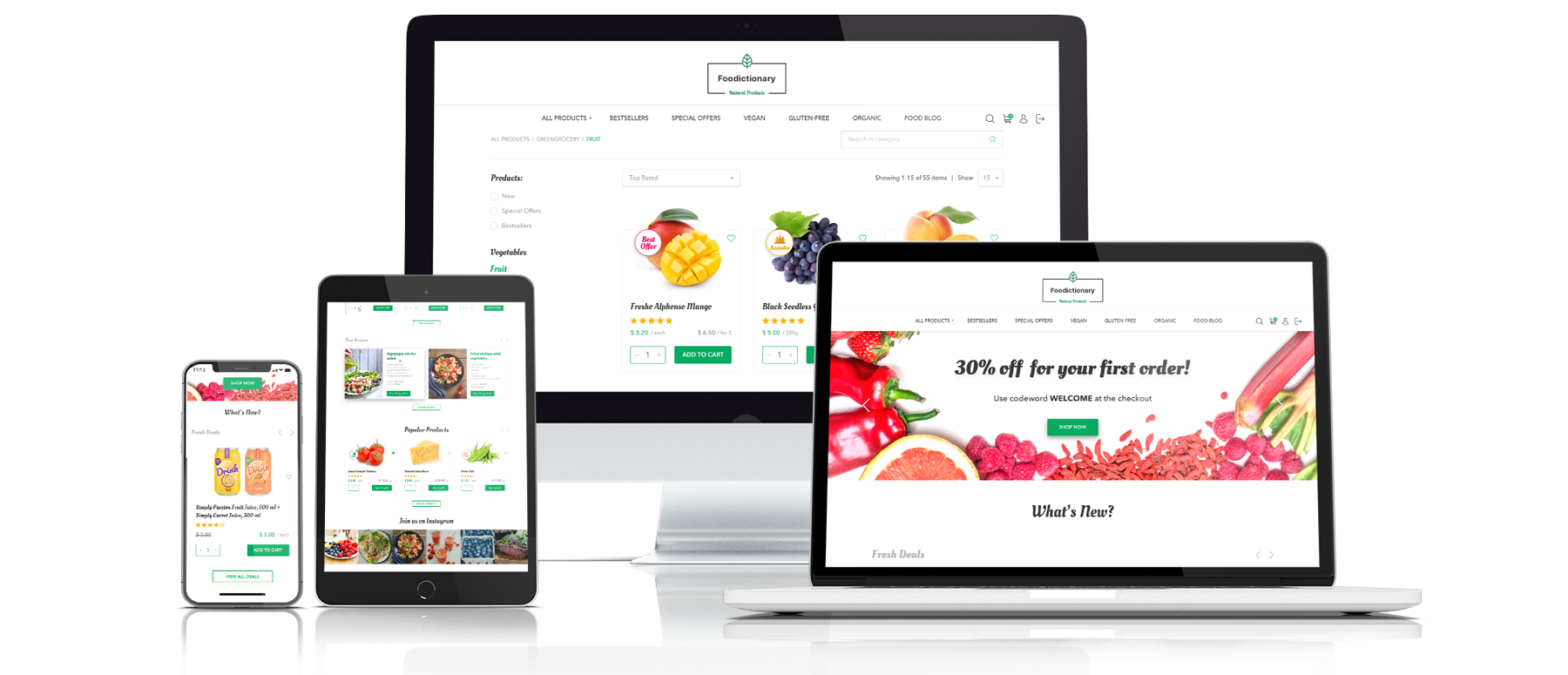 Food Ecommerce Solutions | Consulting, Implementation, Support ...