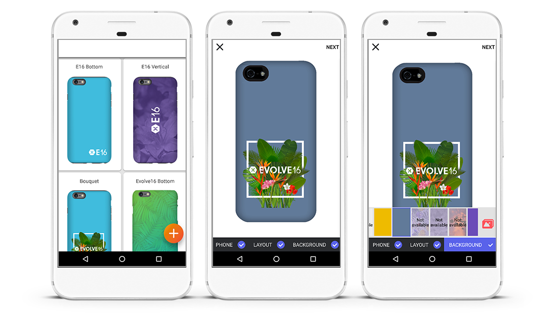 iOS-Android App on Xamarin for Creating Phone Case Designs