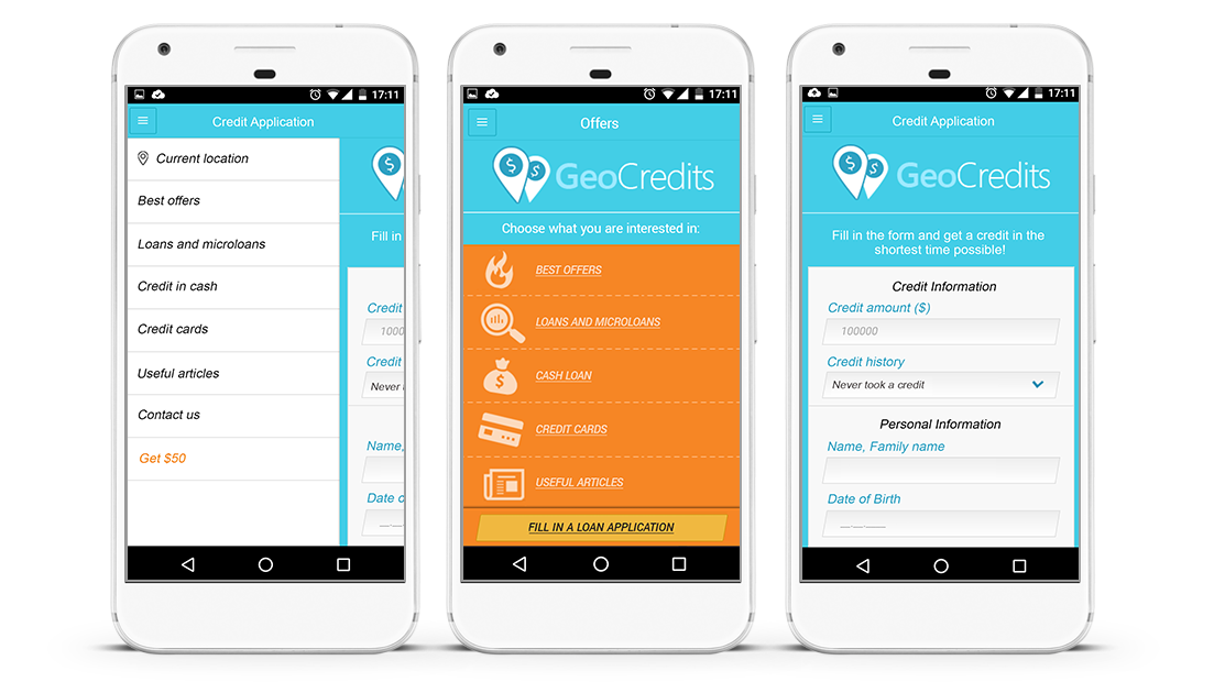 Cross-platform Mobile App for Online Credit Assistant