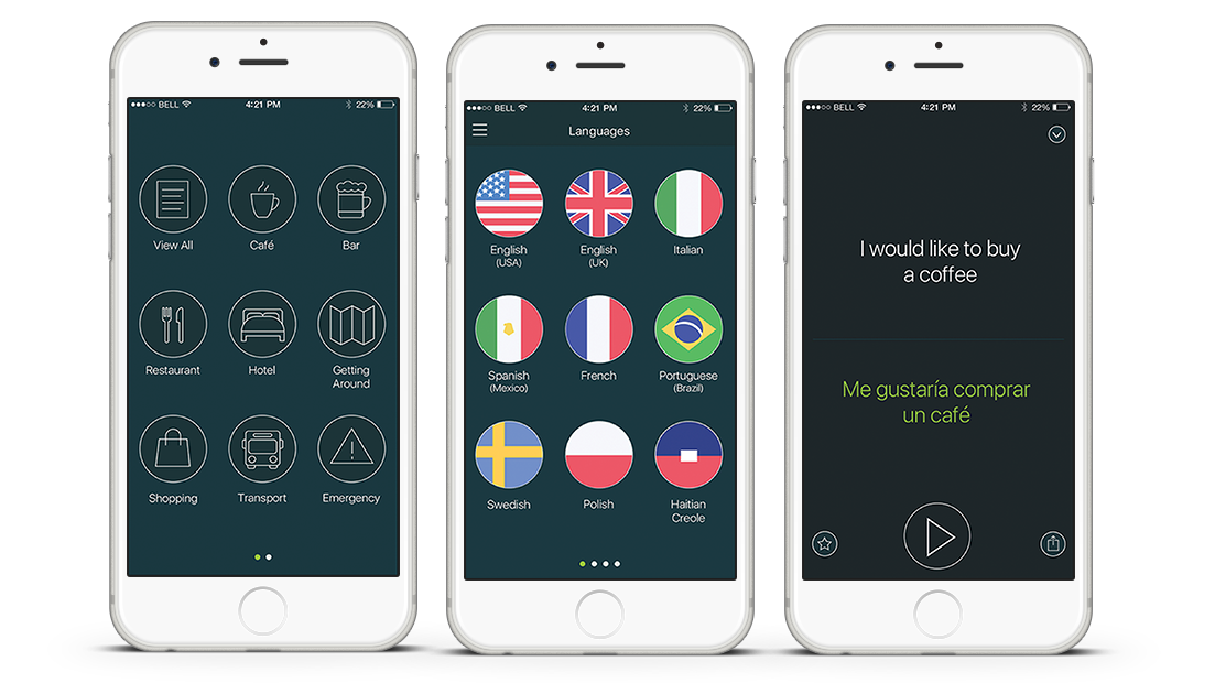 Phrasebook Travel App