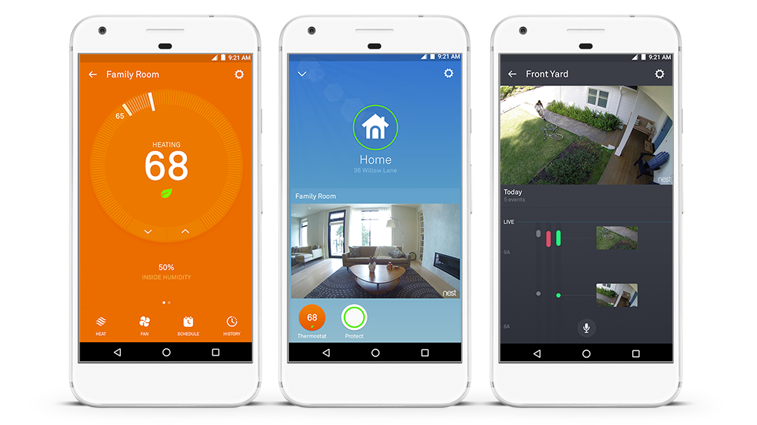 Android App for Smart Home Control