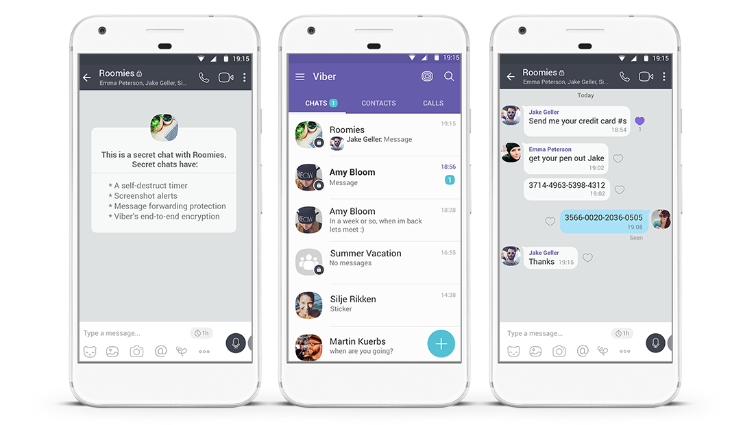 Viber VoIP and Messaging App