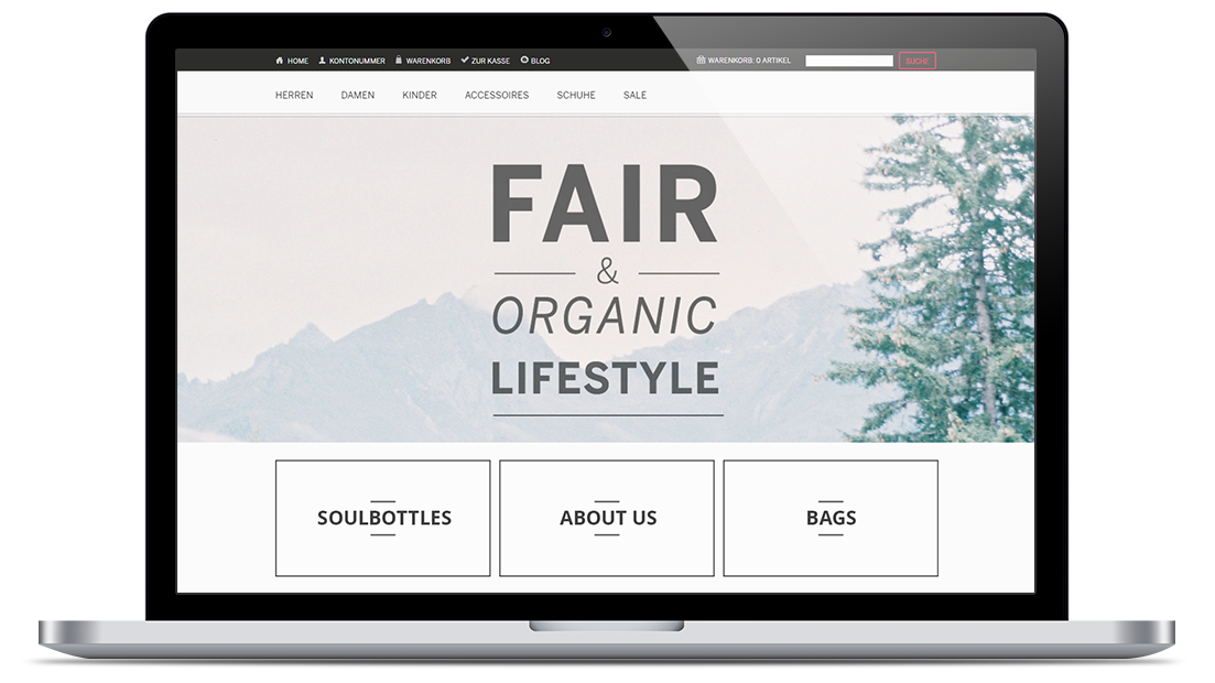 Fine-tuning a Magento E-shop for an Eco-Friendly Apparel Store