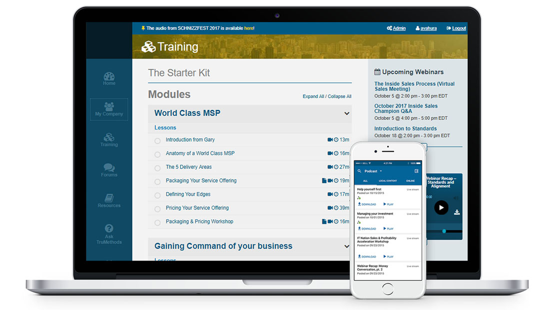 Training Portal for US Managed Services Providers