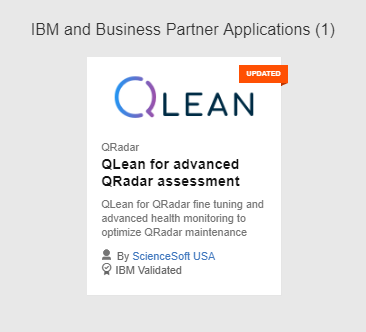 IBM and Business Partner Applications