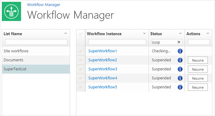 Workflow Manager SharePoint Add-in - ScienceSoft