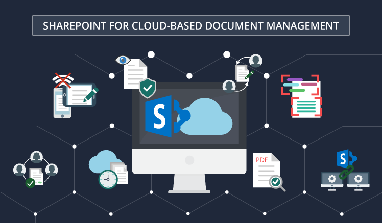 What makes SharePoint a good choice for cloud-based document