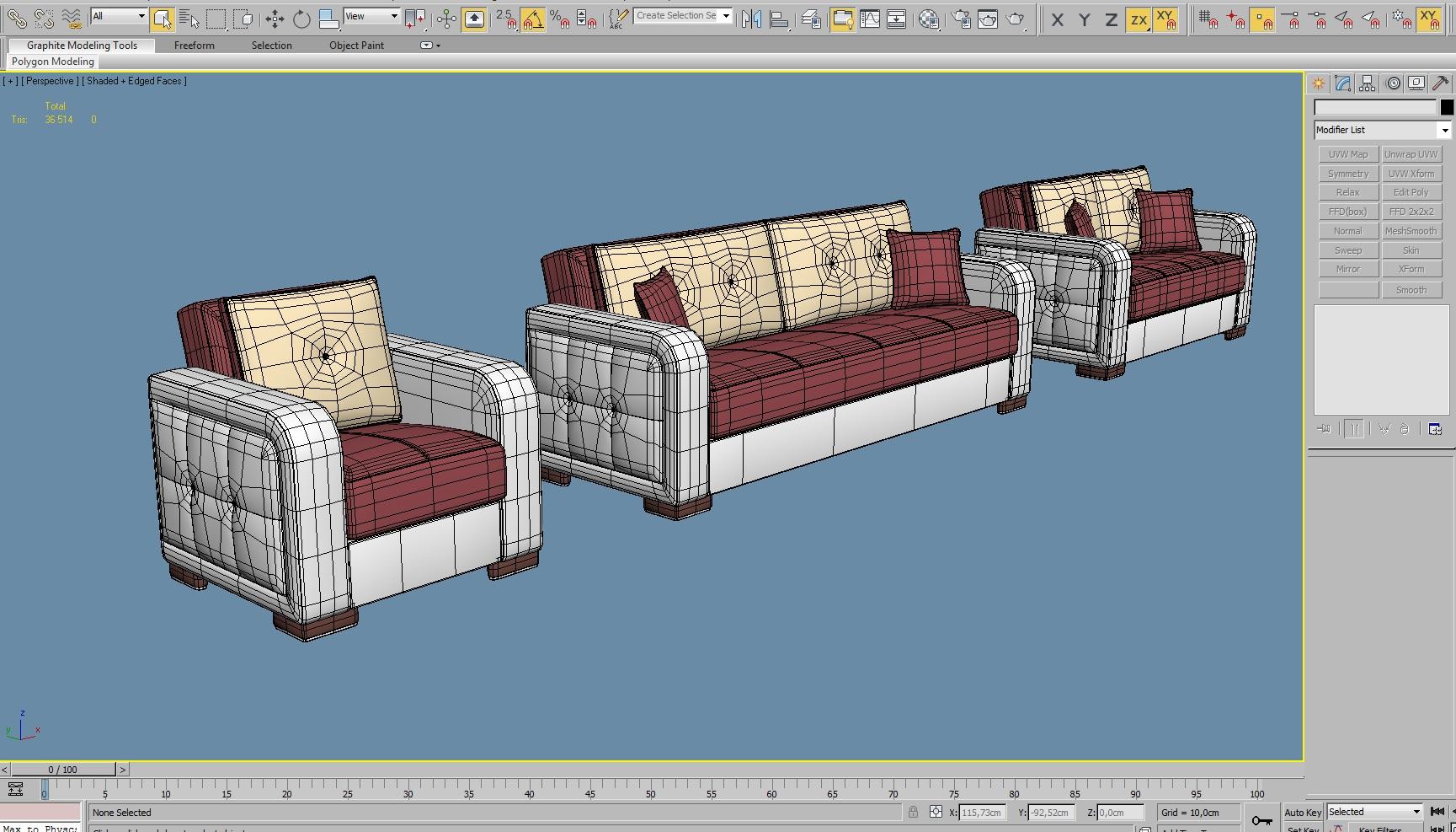 3D Modeling for Interior Design Platform - Case Study