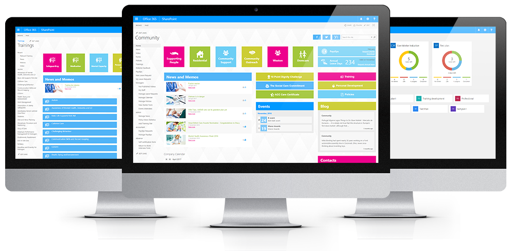 SharePoint Online Learning Portal for a UK Social Care ...